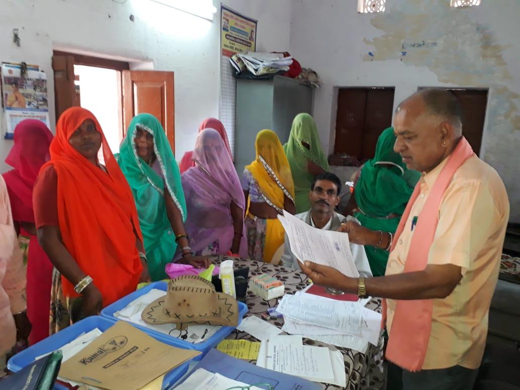 वल्लभनगर ग्राम पंचायत  के ओडीएफ होने के बावजूद भी ग्रामीणों को नहीं मिला शौचालय का भुगतान