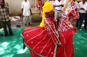 Video: नैनवां दहेलवालजी का मेला शुरु...शोभायात्रा में झलकी संस्कृति, कच्ची घोड़ी नृत्य रहा आकर्षण
