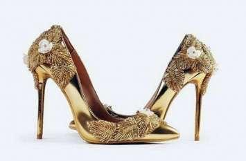 ये है सोने और हीरों से बना दुनिया का सबसे महंगा जूता, कीमत जानकर उड़ जाएंगे आपके होश