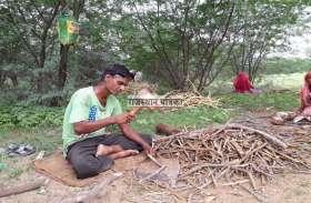 VIDEO : खौड़ गांव में आज भी कायम है आंवल की छाल से चमड़ा रंगाई का कार्य