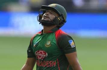 ASIA CUP 2018: बांग्लादेश के हरफनमौला खिलाड़ी शाकिब अल हसन भारत के खिलाफ फाइनल मुकाबले से बाहर