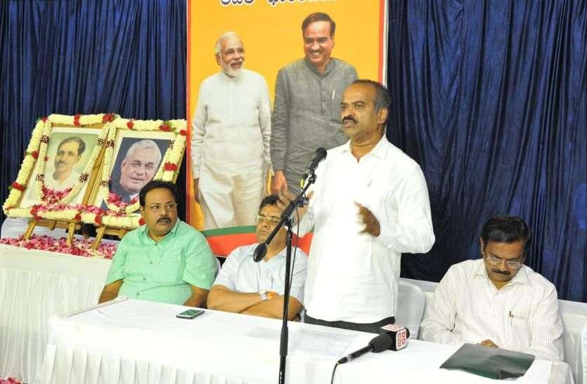 पंडित दीनदयाल उपाध्याय के सपनों को साकार कर रही सरकार: पी.सी. मोहन