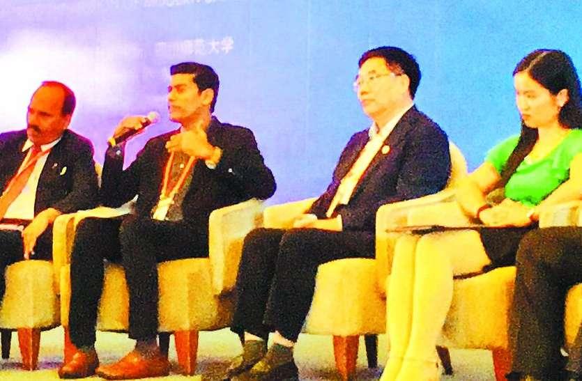 वैश्विक शिक्षण सम्मेलन में शामिल हुए कोठारी