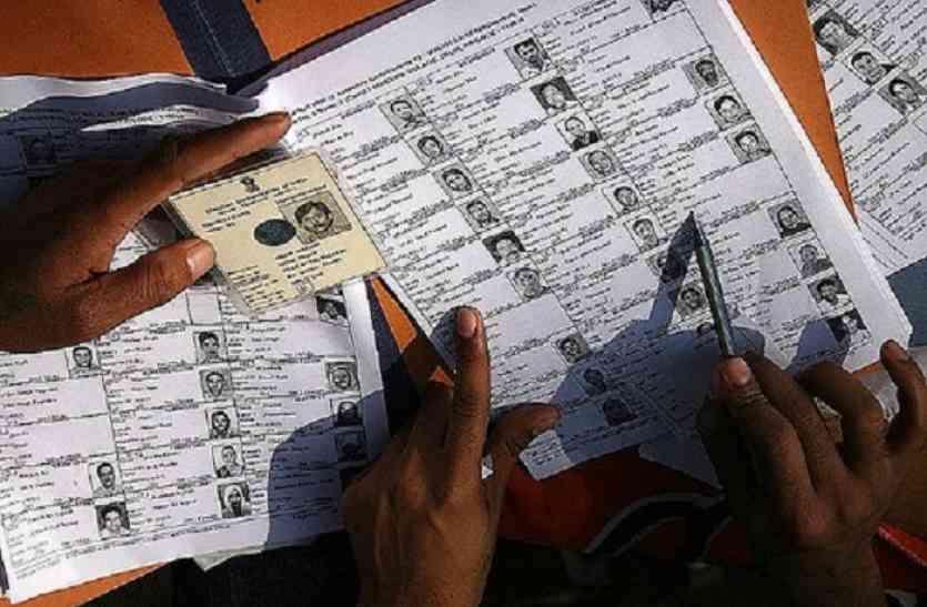 मतदाता सूची से 25 हजार नाम हटाने कलेक्टरों ने भेजा प्रस्ताव