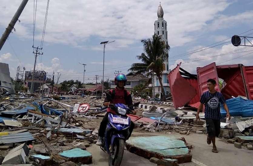 इंडोनेशिया में भूकंप और सुनामी से मरने वालों की संख्या 400 से अधिक पहुंची, मलबे में अभी भी कई लोगों के फंसे होने की आशंका