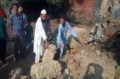 शर्मनाक: मजदूर की कच्चा मकान ढहने से मौत,अधिकारी बोले ये नहीं दैवीय आपदा के हक़दार