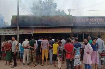 Breaking : माधव मेडिकल चंद्रपुर में आगजनी, लाखों का नुकसान