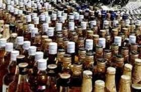 अवैध शराब की मची लूट, दो गिरफ्तार