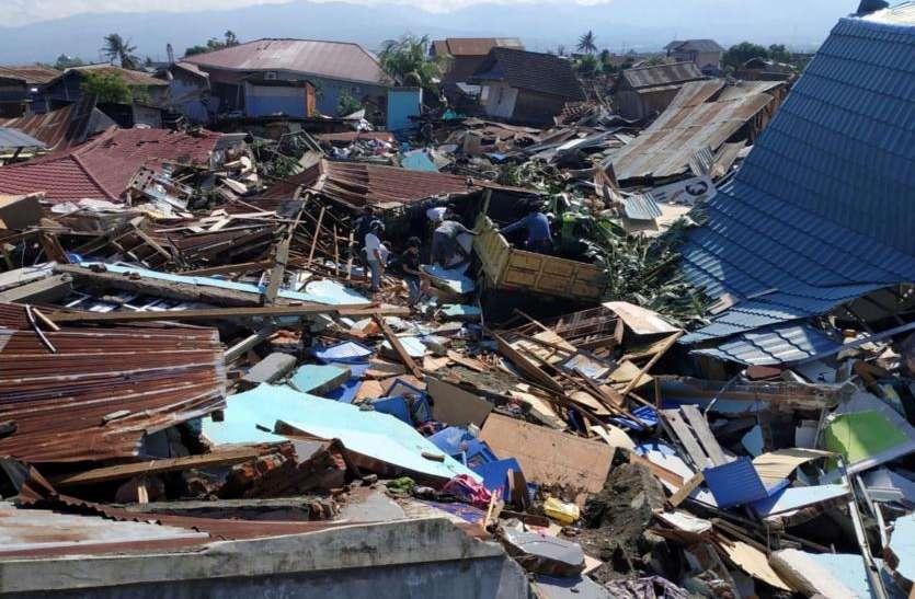 इंडोनेशिया में भूकंप और सुनामी से अब तक 832 मौतें, मृतकों की संख्या बढ़ने के आसार