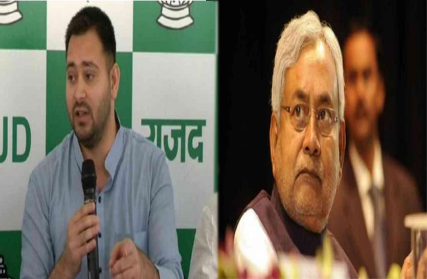 मुजफ्फरपुर एसएसपी के तबादले पर गरमाई सियासत!...तेजस्वी ने नीतीश कुमार को घेरा,लगाए यह गंभीर आरोप