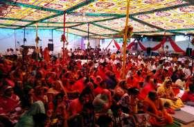 श्रीजी की रथयात्रा उमड़ा श्रद्धालुओं का सैलाब, भगवान का नित्यभिषेक कर मंत्रोच्चार के बीच शांतिधारा की