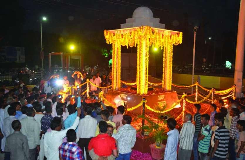 द्वारका में स्थापित होने वाली मूर्तियों के साथ मेड़ता पहुंचे गोविंदानंदा