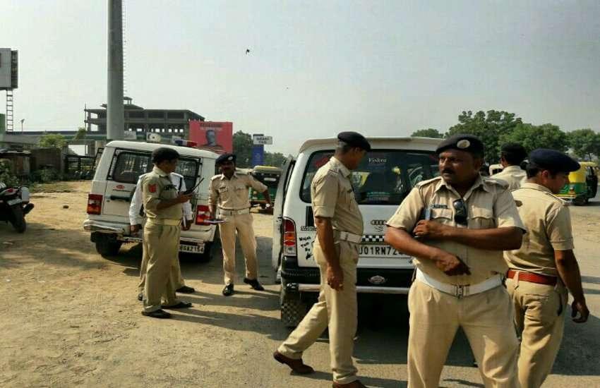 Traffic police Ahmedabad