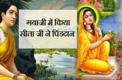 SPECIAL REPORT:श्राद्ध पक्ष में पिंडदान करने के बाद श्राप देने पर मजबूर हुई सीता जी...!जानिए क्यों?