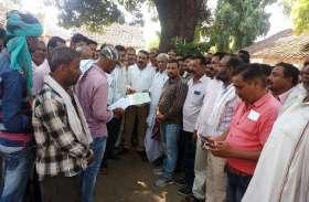 दिल्ली में किसानों पर हुई बर्बरता के विरोध में  किसान संगठनों ने सौंपा राष्ट्रपति के नाम ज्ञापन