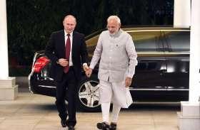 तस्वीरों में देखें रूसी राष्ट्रपति व्लादिमीर पुतिन का भारत दौरा
