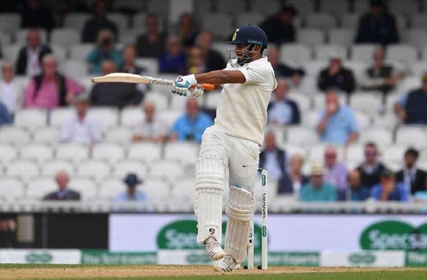 Image result for टेस्ट में वेस्टइंडीज के खिलाफ पंत ने की थी शानदार बल्लेबाजी