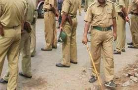 मोदी की सभा में हुड़दंग की आशंका से रोडवेजकर्मियों की घेराबंदी, कई नेता हिरासत में, बस स्टैंड बना पुलिस छावनी