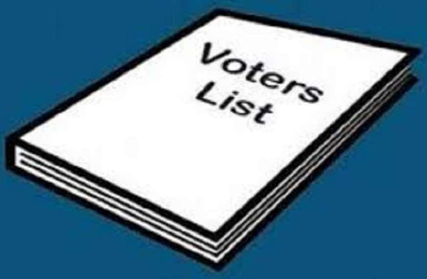 मतदाता सूचियों में त्रुटिसुधार व नाम जोडऩे का काम डीओआईटी को, चुनाव से पहले पूरा करना होगा कार्य
