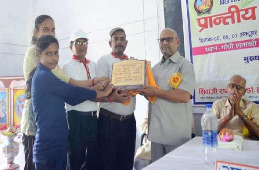 जीएसएसपीजी कॉलेज में प्रतिभा सम्मान के साथ खेल प्रतियोगिता का समापन