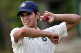 अर्जुन तेंदुलकर ने धारदार गेंदबाजी कर छुड़ाए गुजरात के छक्के, मुंबई ने दर्ज की आसान जीत