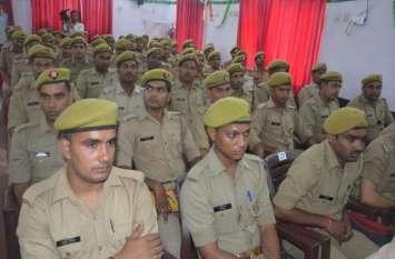 लखनऊ के नए युवा पुलिस कर्मियों को दी सीख़ : डीजीपी ओपी सिंह