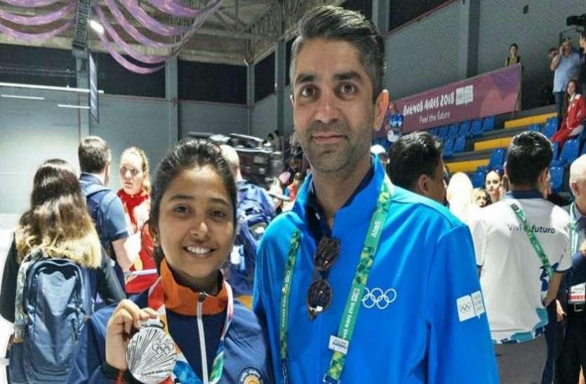 Youth Olympic 2018: शूटर मेहुली घोष ने 10 मीटर एयर राइफल में रजत पदक जीता