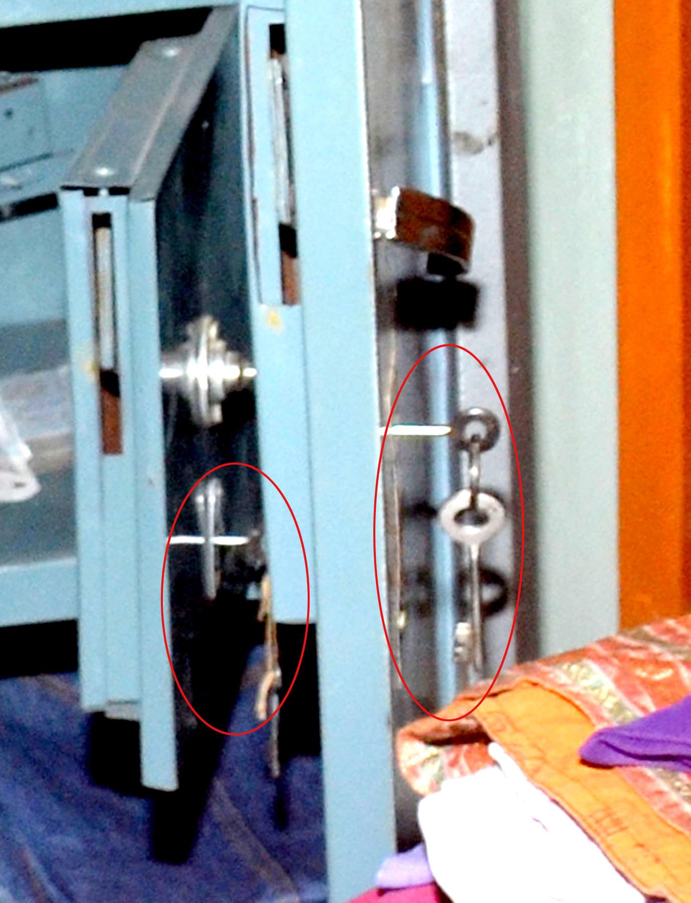 हेडमास्टर के सूने घर से पांच लाख की चोरी दराज में रखीं चाबियों से खोले लॉकर व ताले