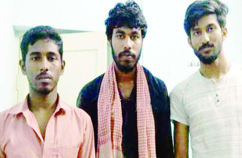 तिरुपुर में तीन बांग्लादेशी गिरफ्तार