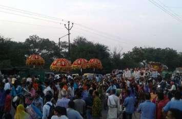 धूमधाम से मनाई गई महाराजा अग्रसेन जयंती, शोभायात्रा का हुआ जगह जगह स्वागत