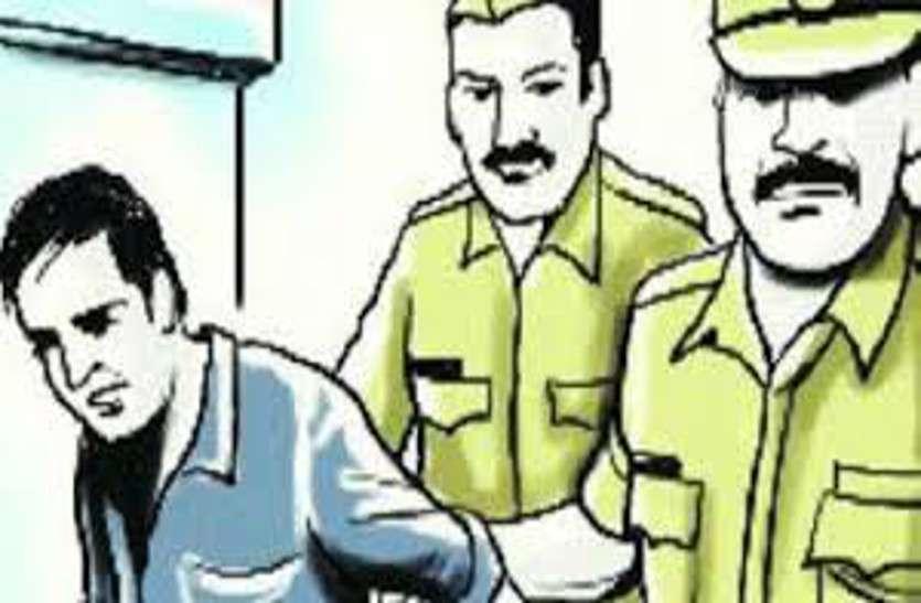 थाने से भागा अपहरण व दुष्कर्म का आरोपी गिरफ्तार