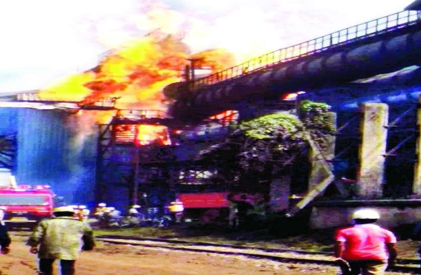 BSP हादसा, 40 साल की नौकरी में दूसरा सबसे बड़ा हादसा देखने वाले इकलौते चश्मदीद, आंख के सामने जल गए 8 साथी...