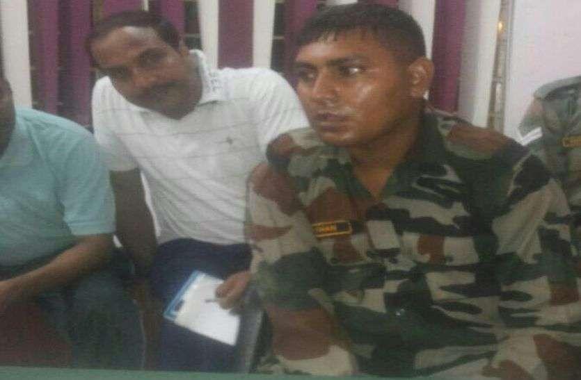 खुद को लेफ्टिनेंट बताकर अलवर में सेना की छावनी में घुसने का प्रयास कर रहा था यह संदिग्ध शख्स, खुफिया ऐजेन्सी के पकड़ा तो सामने आई सच्चाई