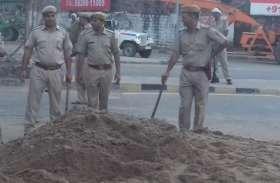 सीएम के धौलपुर निवास से ठीक पहले बजरी माफिया से पुलिस की मुठभेड़