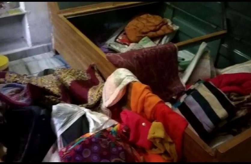 उदयपुर के इस गांव में चोरों ने एक-एक कर चार घरों के ताले तोड़े