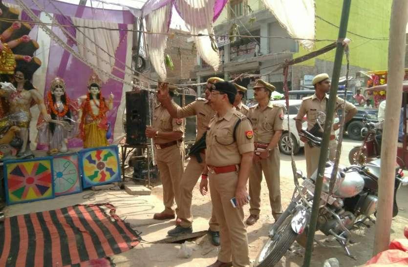 दुर्गा पूजा पांडालों का पुलिस कप्तान राहुल राज सिंह ने किया औचक निरीक्षण, दिए कई आवश्यक निर्देश