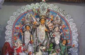 पुरानी दुर्गा पूजा में दिखते है आज भी परम्परा के रंग