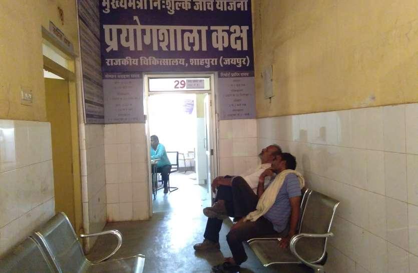 मुम्बई से दवा आने पर 20 दिन बाद सुधरी बीमार मशीन....मरीजों को मिली राहत