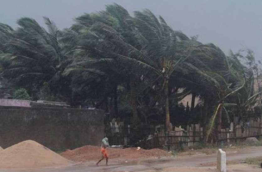 तितली तूफान से बंगाल में 1 की मौत