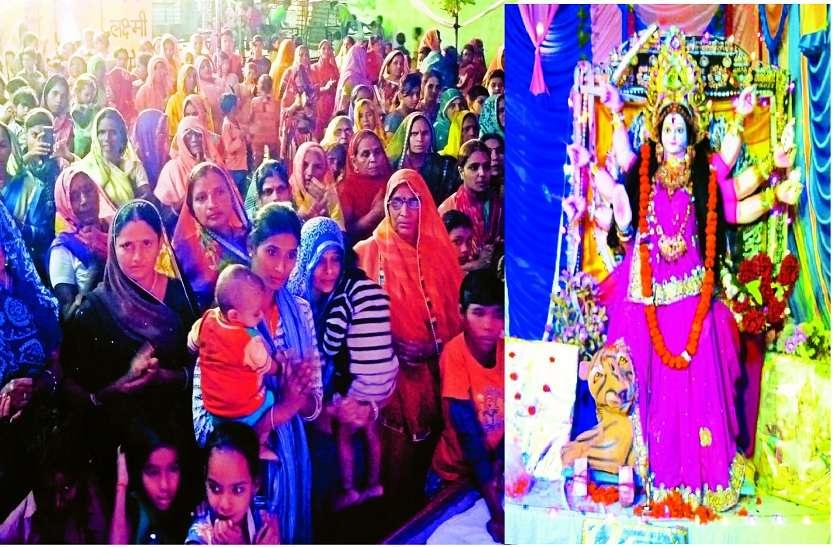 नवरात्र महोत्सव में धार्मिक कार्यक्रमों की धूम