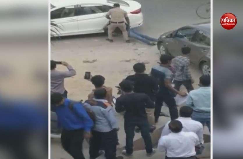 गुरुग्रामः जज की पत्नी और बेटे को सुरक्षा में तैनात गनमैन ने मारी गोली, दोनों की हालत गंभीर