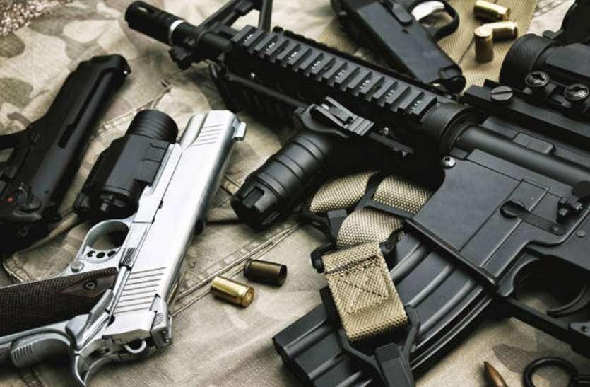 हथियार बनाने के औजार व उपकरण बरामद