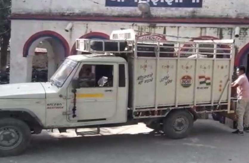 हरियाणा पुलिस से मिली सूचना, ट्रक में भरकर जा रहा 'ये', पहुंची यूपी पुलिस तो देखकर रह गई हैरान