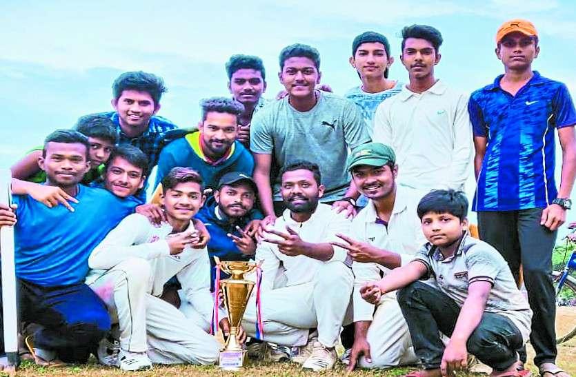 टी-20 के फाइनल मैच में लालबाग ने कोण्डागांव को हराया