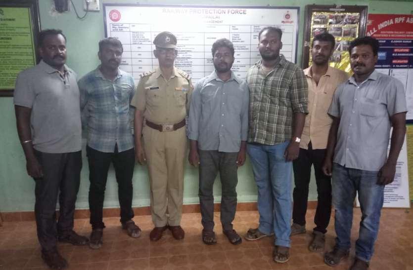 चेन्नई पुलिस ने तीन अपराधियों को धर दबोचा