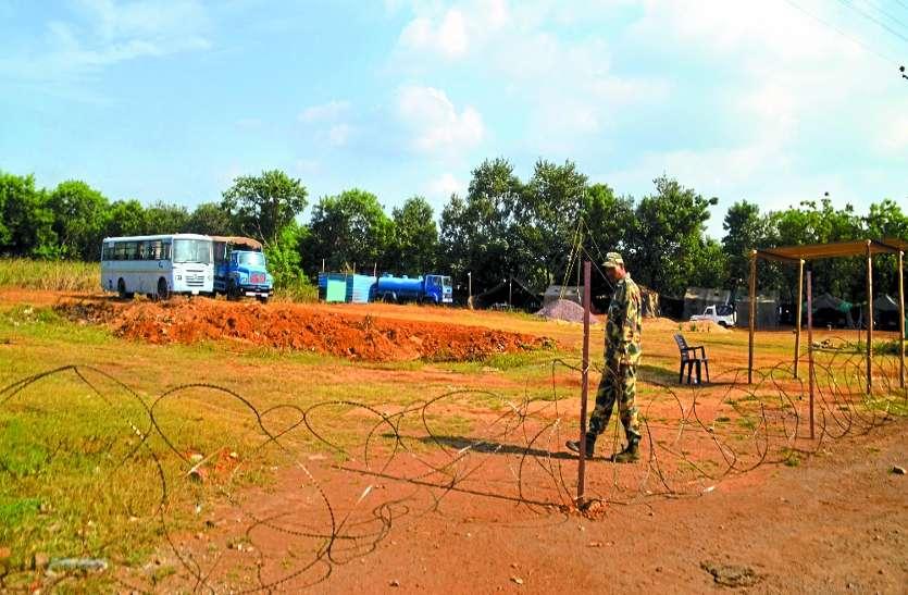 CRPF ने अचानक इस शहर के बीच में तंबू लगाकर कहा ये हमारी जमीन, सशस्त्र जवान किया तैनात
