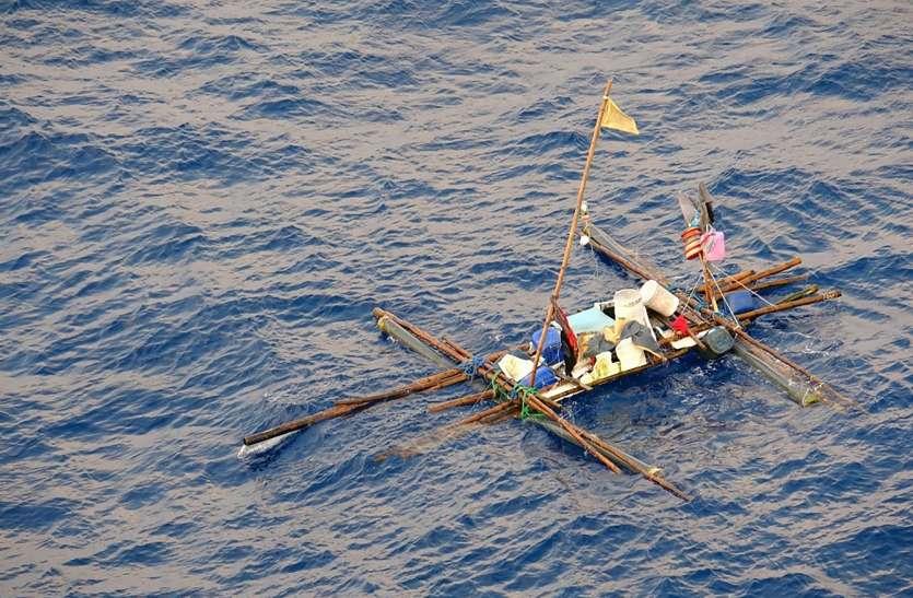 मछली जल की रानी हैः नाव कर दी पंचर, शिकारी फंसे बीच समंदर