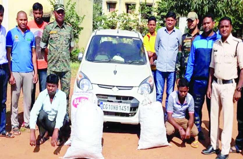 मध्यप्रदेश जा रही एक और संदिग्ध कार मिली, पुलिस ने जब ली तलाशी तो उड़ गए होश