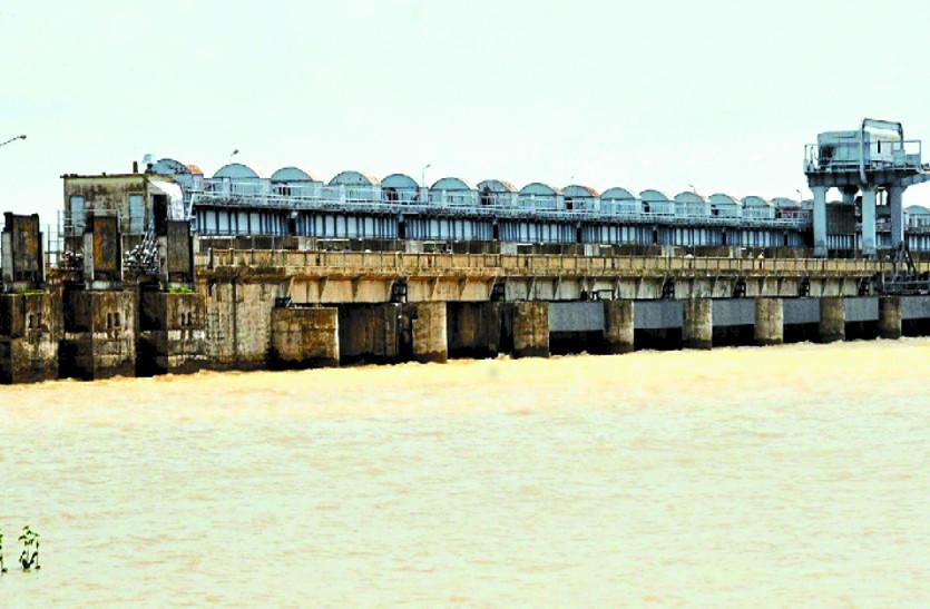 मानसून में हुई झमाझम बारिश के बावजूद गंगरेल बांध में नही है पर्याप्त पानी