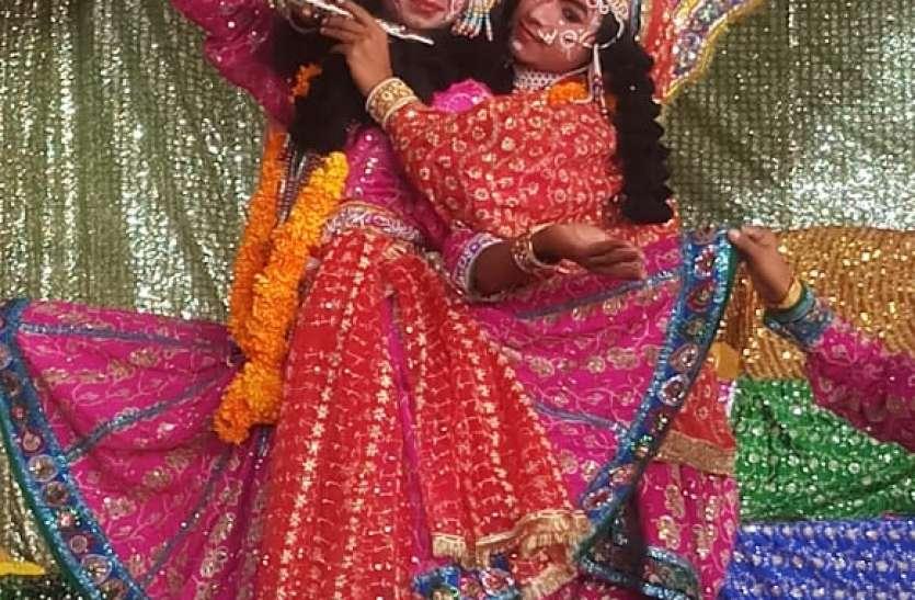 बृज के कलाकारों ने रासलीला के मंचन से जीता लोगों का दिल
